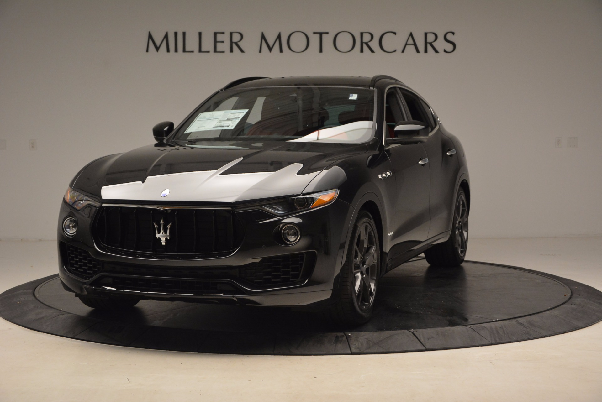 New 2018 Maserati Levante S GranSport for sale Sold at Rolls-Royce Motor Cars Greenwich in Greenwich CT 06830 1