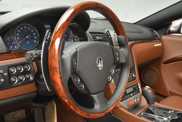 Used 2012 Maserati GranTurismo for sale Sold at Rolls-Royce Motor Cars Greenwich in Greenwich CT 06830 24
