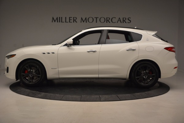 New 2018 Maserati Levante Q4 GranSport for sale Sold at Rolls-Royce Motor Cars Greenwich in Greenwich CT 06830 3