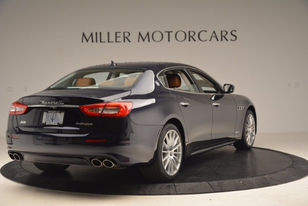 Used 2018 Maserati Quattroporte S Q4 GranLusso for sale Sold at Rolls-Royce Motor Cars Greenwich in Greenwich CT 06830 7