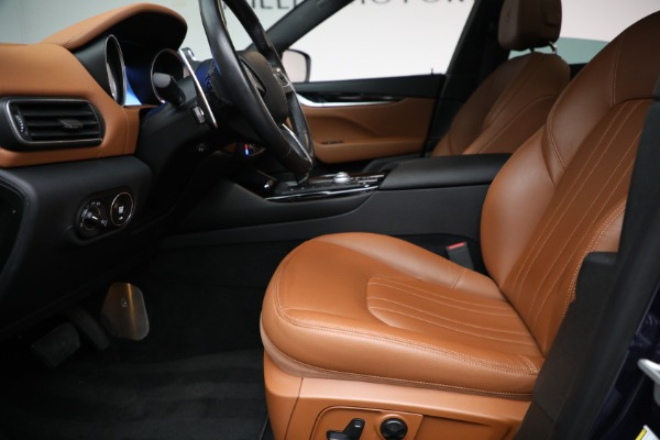 Used 2018 Maserati Levante Q4 for sale $57,900 at Rolls-Royce Motor Cars Greenwich in Greenwich CT 06830 14