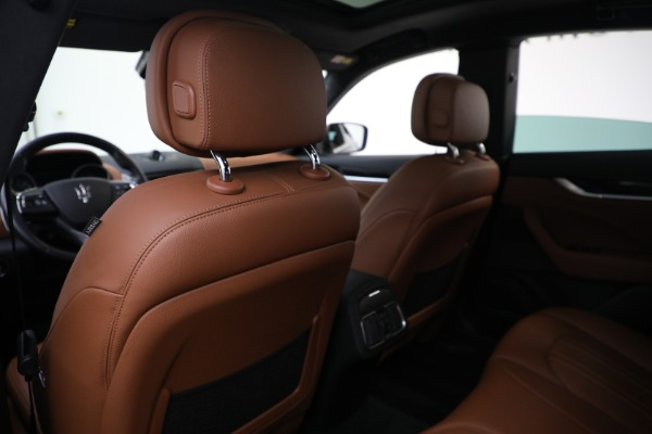 Used 2018 Maserati Levante Q4 for sale $57,900 at Rolls-Royce Motor Cars Greenwich in Greenwich CT 06830 19