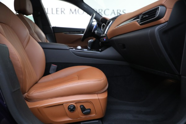 Used 2018 Maserati Levante Q4 for sale $57,900 at Rolls-Royce Motor Cars Greenwich in Greenwich CT 06830 22