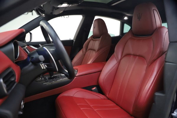 Used 2018 Maserati Levante S GranSport for sale $66,900 at Rolls-Royce Motor Cars Greenwich in Greenwich CT 06830 14