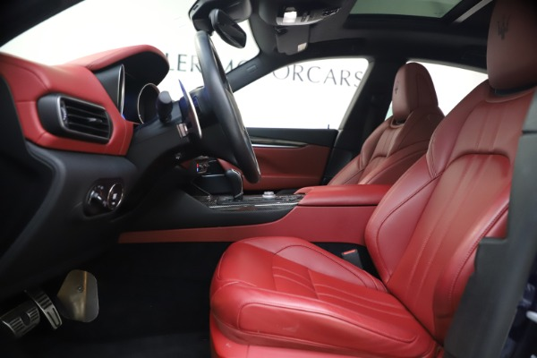 Used 2018 Maserati Levante S GranSport for sale $66,900 at Rolls-Royce Motor Cars Greenwich in Greenwich CT 06830 15