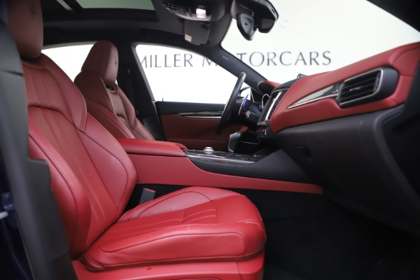Used 2018 Maserati Levante S GranSport for sale $66,900 at Rolls-Royce Motor Cars Greenwich in Greenwich CT 06830 23