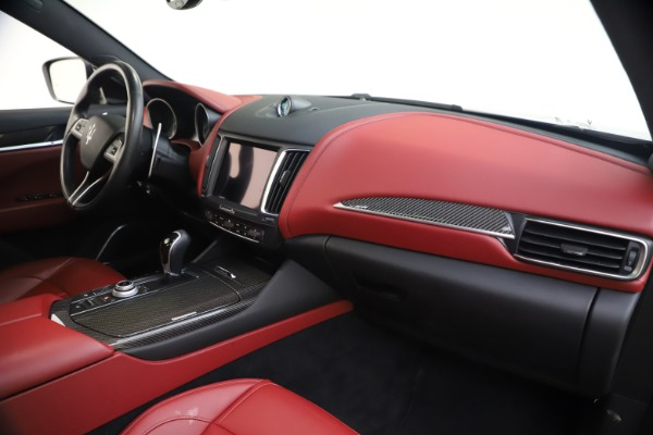 Used 2018 Maserati Levante S GranSport for sale $66,900 at Rolls-Royce Motor Cars Greenwich in Greenwich CT 06830 24
