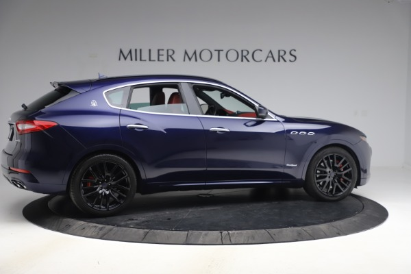New 2018 Maserati Levante S GranSport for sale Sold at Rolls-Royce Motor Cars Greenwich in Greenwich CT 06830 9