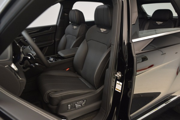 Used 2018 Bentley Bentayga Onyx Edition for sale $139,900 at Rolls-Royce Motor Cars Greenwich in Greenwich CT 06830 20