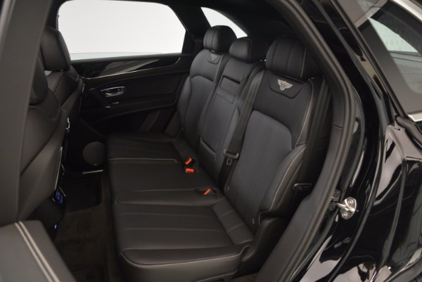 Used 2018 Bentley Bentayga Onyx Edition for sale $139,900 at Rolls-Royce Motor Cars Greenwich in Greenwich CT 06830 24