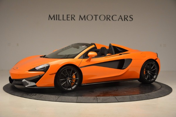 New 2018 McLaren 570S Spider for sale Sold at Rolls-Royce Motor Cars Greenwich in Greenwich CT 06830 2