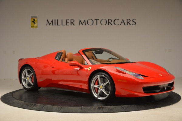Used 2012 Ferrari 458 Spider for sale Sold at Rolls-Royce Motor Cars Greenwich in Greenwich CT 06830 10