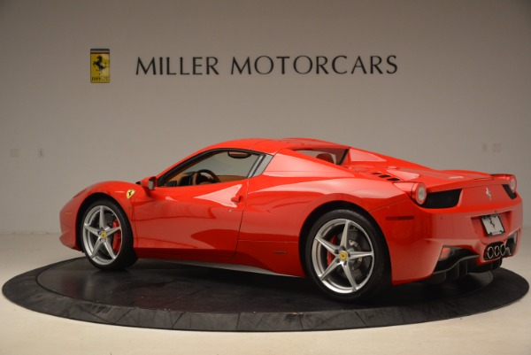Used 2012 Ferrari 458 Spider for sale Sold at Rolls-Royce Motor Cars Greenwich in Greenwich CT 06830 16