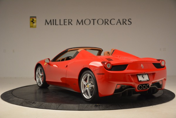 Used 2012 Ferrari 458 Spider for sale Sold at Rolls-Royce Motor Cars Greenwich in Greenwich CT 06830 5