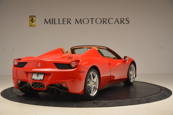 Used 2012 Ferrari 458 Spider for sale Sold at Rolls-Royce Motor Cars Greenwich in Greenwich CT 06830 7
