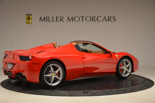 Used 2012 Ferrari 458 Spider for sale Sold at Rolls-Royce Motor Cars Greenwich in Greenwich CT 06830 8