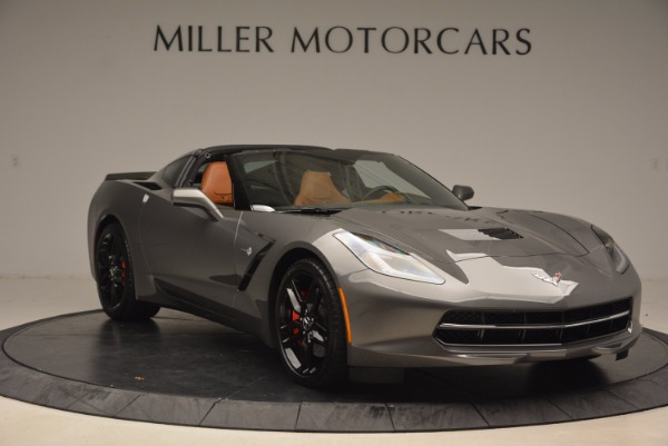 Used 2015 Chevrolet Corvette Stingray Z51 for sale Sold at Rolls-Royce Motor Cars Greenwich in Greenwich CT 06830 11