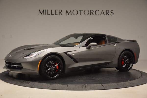 Used 2015 Chevrolet Corvette Stingray Z51 for sale Sold at Rolls-Royce Motor Cars Greenwich in Greenwich CT 06830 14