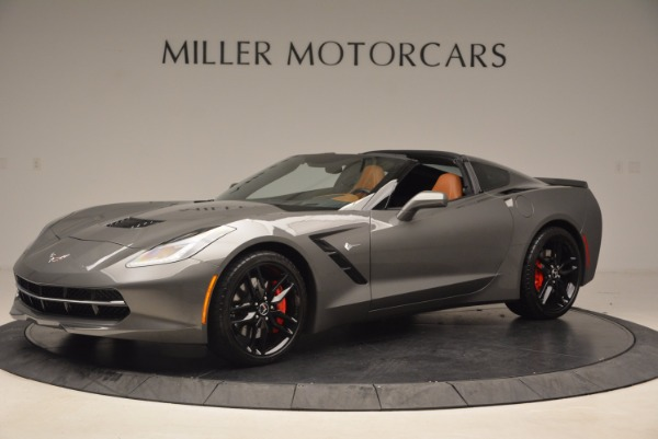 Used 2015 Chevrolet Corvette Stingray Z51 for sale Sold at Rolls-Royce Motor Cars Greenwich in Greenwich CT 06830 2