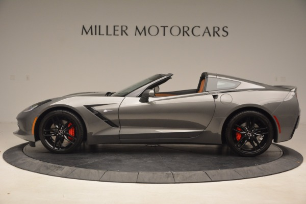 Used 2015 Chevrolet Corvette Stingray Z51 for sale Sold at Rolls-Royce Motor Cars Greenwich in Greenwich CT 06830 3