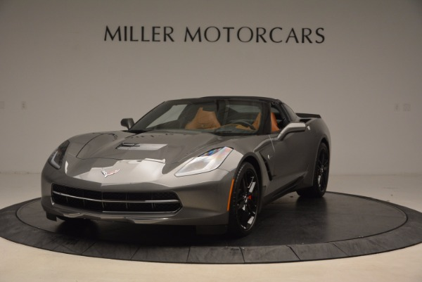 Used 2015 Chevrolet Corvette Stingray Z51 for sale Sold at Rolls-Royce Motor Cars Greenwich in Greenwich CT 06830 1