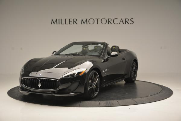 New 2017 Maserati GranTurismo Convertible Sport for sale Sold at Rolls-Royce Motor Cars Greenwich in Greenwich CT 06830 1