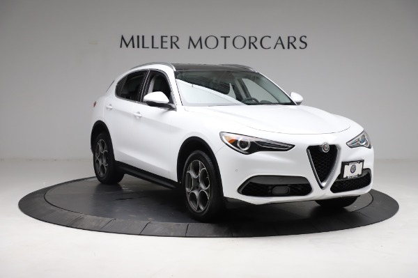 Used 2018 Alfa Romeo Stelvio Q4 for sale Sold at Rolls-Royce Motor Cars Greenwich in Greenwich CT 06830 12