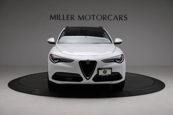 Used 2018 Alfa Romeo Stelvio Q4 for sale Sold at Rolls-Royce Motor Cars Greenwich in Greenwich CT 06830 13