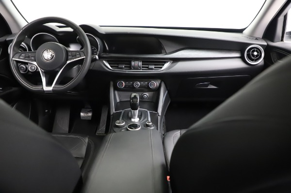 Used 2018 Alfa Romeo Stelvio Q4 for sale Sold at Rolls-Royce Motor Cars Greenwich in Greenwich CT 06830 17