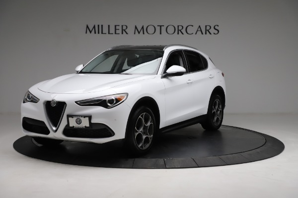 Used 2018 Alfa Romeo Stelvio Q4 for sale Sold at Rolls-Royce Motor Cars Greenwich in Greenwich CT 06830 2