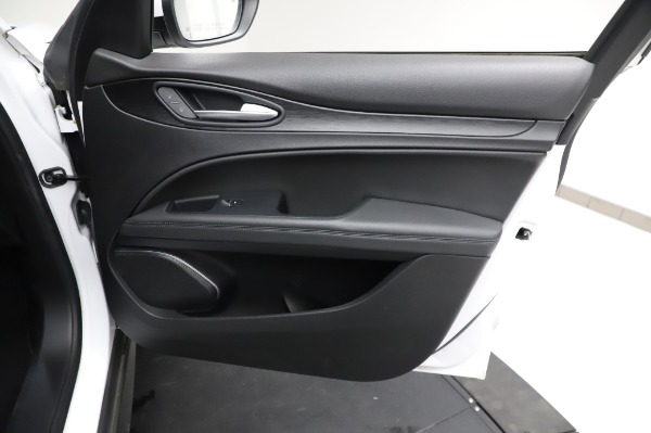 Used 2018 Alfa Romeo Stelvio Q4 for sale Sold at Rolls-Royce Motor Cars Greenwich in Greenwich CT 06830 24