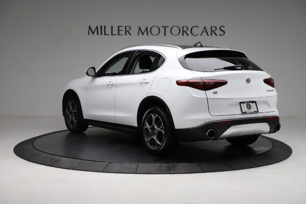 Used 2018 Alfa Romeo Stelvio Q4 for sale Sold at Rolls-Royce Motor Cars Greenwich in Greenwich CT 06830 5
