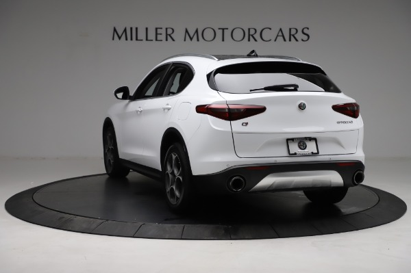 Used 2018 Alfa Romeo Stelvio Q4 for sale Sold at Rolls-Royce Motor Cars Greenwich in Greenwich CT 06830 6