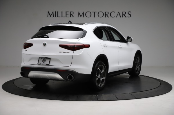 Used 2018 Alfa Romeo Stelvio Q4 for sale Sold at Rolls-Royce Motor Cars Greenwich in Greenwich CT 06830 8
