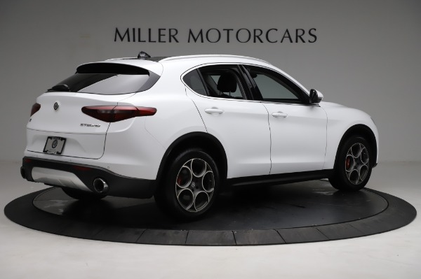Used 2018 Alfa Romeo Stelvio Q4 for sale Sold at Rolls-Royce Motor Cars Greenwich in Greenwich CT 06830 9