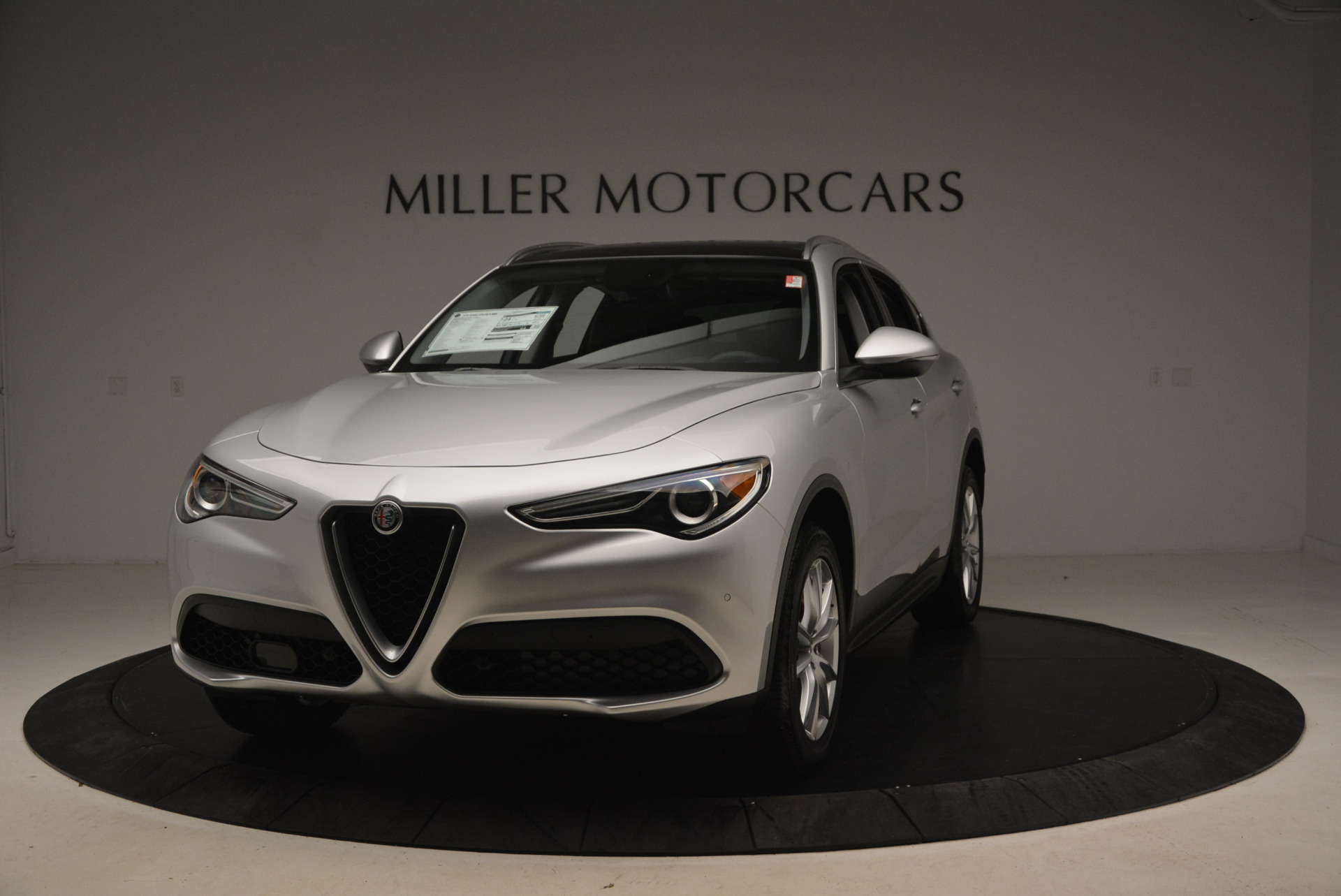 New 2018 Alfa Romeo Stelvio Ti Q4 for sale Sold at Rolls-Royce Motor Cars Greenwich in Greenwich CT 06830 1
