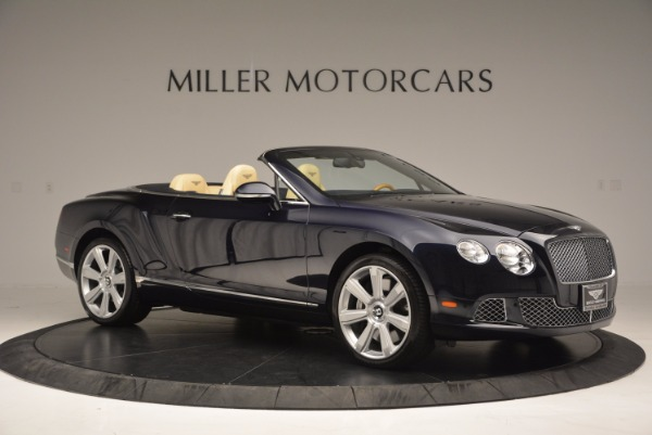 Used 2012 Bentley Continental GTC for sale Sold at Rolls-Royce Motor Cars Greenwich in Greenwich CT 06830 10