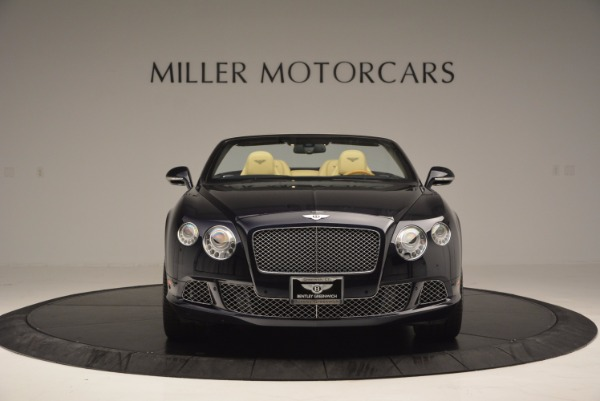 Used 2012 Bentley Continental GTC for sale Sold at Rolls-Royce Motor Cars Greenwich in Greenwich CT 06830 12