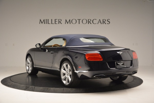 Used 2012 Bentley Continental GTC for sale Sold at Rolls-Royce Motor Cars Greenwich in Greenwich CT 06830 18