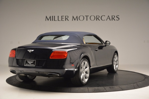 Used 2012 Bentley Continental GTC for sale Sold at Rolls-Royce Motor Cars Greenwich in Greenwich CT 06830 20