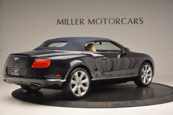 Used 2012 Bentley Continental GTC for sale Sold at Rolls-Royce Motor Cars Greenwich in Greenwich CT 06830 21