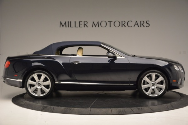 Used 2012 Bentley Continental GTC for sale Sold at Rolls-Royce Motor Cars Greenwich in Greenwich CT 06830 22