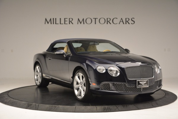 Used 2012 Bentley Continental GTC for sale Sold at Rolls-Royce Motor Cars Greenwich in Greenwich CT 06830 24