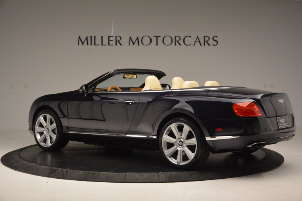Used 2012 Bentley Continental GTC for sale Sold at Rolls-Royce Motor Cars Greenwich in Greenwich CT 06830 4