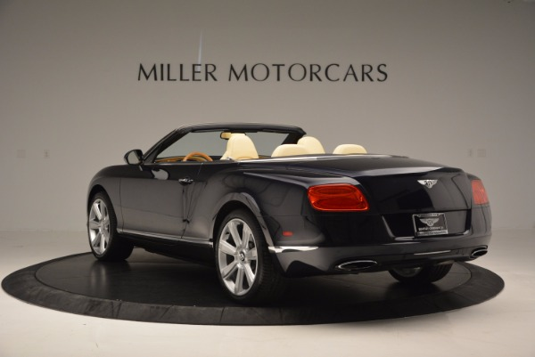 Used 2012 Bentley Continental GTC for sale Sold at Rolls-Royce Motor Cars Greenwich in Greenwich CT 06830 5
