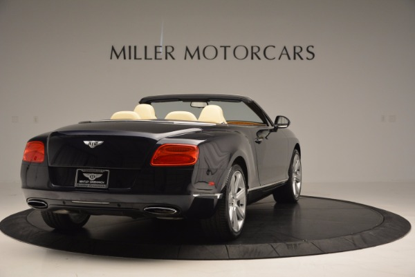 Used 2012 Bentley Continental GTC for sale Sold at Rolls-Royce Motor Cars Greenwich in Greenwich CT 06830 7