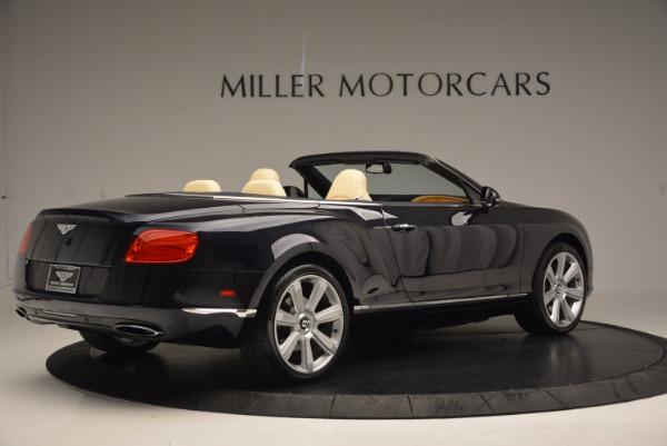 Used 2012 Bentley Continental GTC for sale Sold at Rolls-Royce Motor Cars Greenwich in Greenwich CT 06830 8