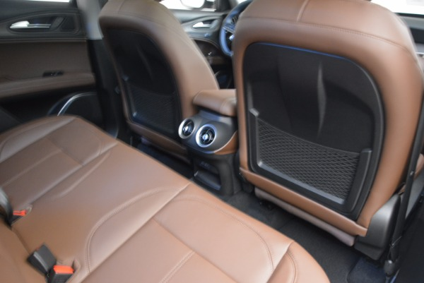 New 2018 Alfa Romeo Stelvio Ti Q4 for sale Sold at Rolls-Royce Motor Cars Greenwich in Greenwich CT 06830 22