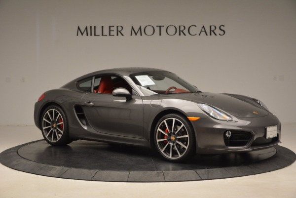 Used 2014 Porsche Cayman S S for sale Sold at Rolls-Royce Motor Cars Greenwich in Greenwich CT 06830 10