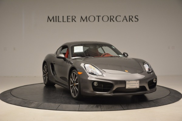 Used 2014 Porsche Cayman S S for sale Sold at Rolls-Royce Motor Cars Greenwich in Greenwich CT 06830 11